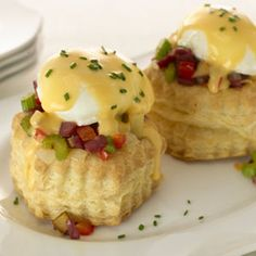 Pepperidge Farm® Puff Pastry - Recipe Detail - Red Potato-Corned Beef Hash and Eggs in Puff Pastry Shells