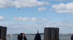 The Space Shuttle Enterprise Arriving In New York City (April 27, 2012) #4