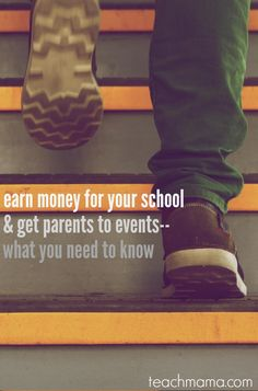 earn money for your school and get parents to events  teachmama.com @volunteerspot | how do YOU get parents to events?