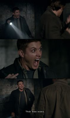 Sweet Supernatural Have Mercy. Real men scream like little girls when confronted by cats hiding in lockers