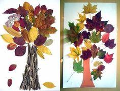 arbres amb cartolina, fulles, pasta, plastilina, pintant, estampant...