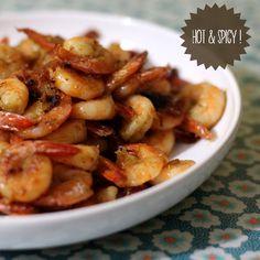 ✻ crevettes sautées citronnelle & gingembre ✻