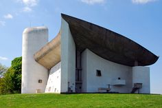 Notre-Dame du Haut, Ronchamp, Le Corbusier, 1950-1954 | Flickr - Photo Sharing!