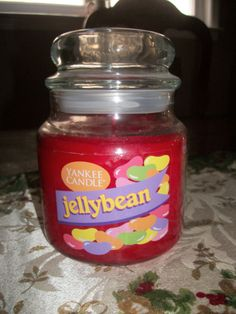 Yankee Candle Jelly Bean 14.5 oz jar #YankeeCandle#YCEasterBasket