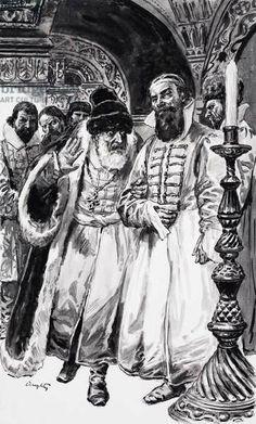 Ivan and Boris Russian Folk, Eastern Europe, 16th Century, Napoleon, Tudor, Renaissance, Medieval, Empire, Museum