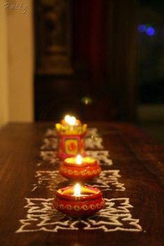 Easy DIY Diwali Decoration Ideas : The Anamika Mishra Blog