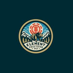 Element Bear by Curtis Jinkins @neighborhood_studio - LEARN LOGO DESIGN ⬇️⬇️ @learnlogodesign @learnlogodesign - Want to be featured next? Follow us and tag #logoinspirations in your post