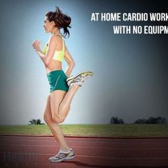 At Home Cardio Workout with No Equipment