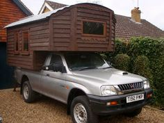 How to Instructions:  Handmade Matt: Demountable Camper Van. 4 x 4 Pick Up Truck. Eco Friendly Camper to DIY