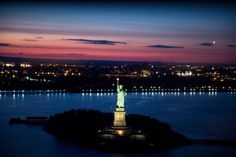 The Statue of Liberty in NY Harbor #NYC