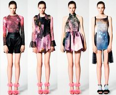 Christopher Kane Resort 2011 #christopherkane #galaxy #galaxyprint #resort #christopherkane2011 #christopherkaneresort
