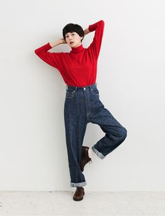 菊池亜希子とデニム四姉妹|伊勢丹 店舗情報 Japan Fashion, Girl Fashion, Fashion Outfits, Womens Fashion, Simple Outfits, Cool Outfits, What To Wear Tomorrow, Normcore Fashion, Facon
