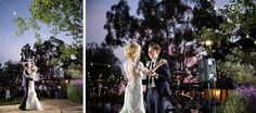 California Monogram Logo Wedding Lighting by Pacific Event Lighting