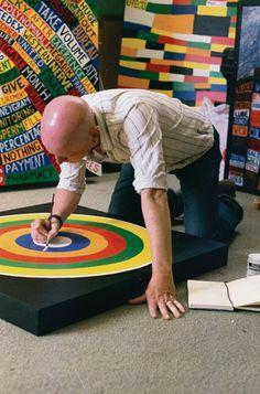 Radiohead paintings Hail to the Thief