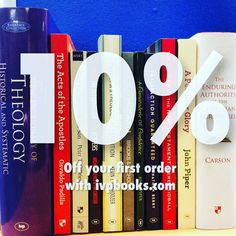 Quite a treat today! With the unique code 'ivpbooks201610' you can get 10% off your first order at ivpbooks.com! #bargain #books #discount #reading #christian #biblestudy #bibles #theology #TheReformationMatter #VirtuallyHuman #mission by ivpbooks