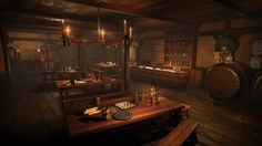 MedievalTavern2 Screenshot 02 1920x1080 90d22e2c53ccf3217dcc9a0378cd77a5 png 1920×1080 Tavern Medieval Interior concept