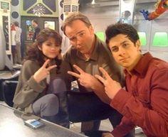 Selena Gomez, David Deluise and David Henrie.