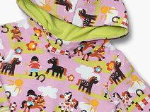 Hoodie  *Pony rosa* Gr. 74-128