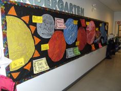 Solar System Bulletin Board: This is a nice bulletin board for the unit. The students can add facts as they learn about the planets.