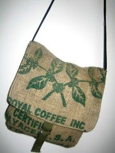 Recycled Coffee Bag Messenger | Shop fashion, accessories| Kaboodle