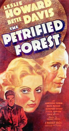 The Petrified Forest Movie Poster 1936