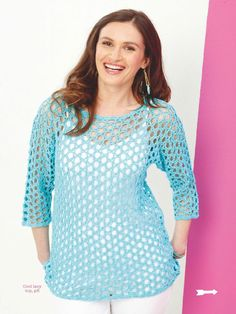 Womans Weekly Knitting  Crochet  July 2015 - 轻描淡写 - 轻描淡写