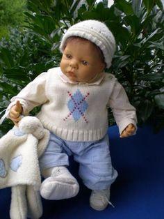Zapf Künstlerpuppe 48 cm Baby Paul Puppe B. Klemm 2003 limitiertEs ist eine…