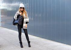 http://www.shallwesasa.com/2015/12/Metallic-Stripe-Tweed-Kimono-coat-coco-rocha-paris-tote.html