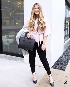 One of the most versatile tops you can add to your wardrobe for spring! This comes in three colors and costs less than $60. This light pink option is currently fully stocked and will be SO CUTE with a pair of white jeans.  Follow me on the @liketoknow.it app to get all of the details on my outfit.  http://liketk.it/2uFcn #liketkit #LTKunder100 #LTKunder50 #LTKstyletip #ootd #wiw #whatiwore #blushpink #igstyle #mystyle #stylebloggers