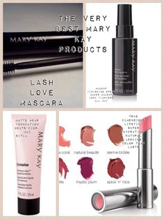 The very best Mary Kay products!!  As a Mary Kay beauty consultant I can help you, please let me know what you would like or need. Contact me to learn more about my makeover, facials our amazing business opportunity or questions about our products! :) shop 24/7 @ www.marykay.com/hgjoen and find me on Facebook @ www.facebook.com/beautifulyoumarykay