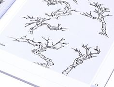 painting branches