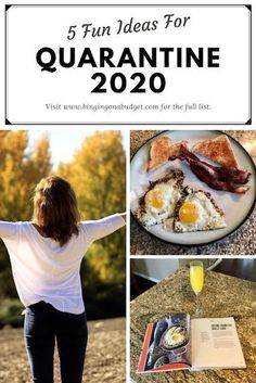 5 Fun Ideas For Quarantine 2020 - Binging on a Budget Healthy Habits, Healthy Life, Healthy Living, Hands On Activities, Sensory Activities, Give Directions, Best Blogs, Healthier You, Cooking With Kids