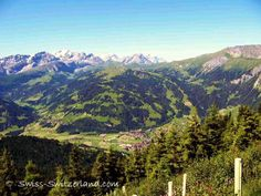 Beautiful Lenk in the Simmen Valley