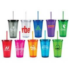 Freedom16 oz. Acrylic Tumblers with Straw 72 - 143$3.29 + $50/color set up