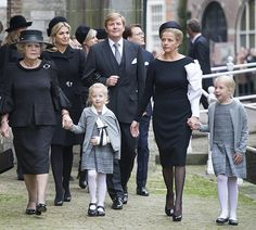 The Dutch Royals, including Queen Maxima, King Willem-Alexander, Princess Beatrix, Princess Mabel attended a memorial for Prince Friso