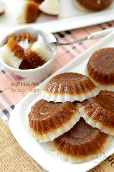 木薯打南糕 Tapioca Kuih Talam