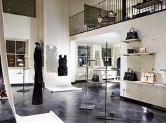 Hostem, una boutique de lujo al más puro estilo vintage industrial. Londres zona de mujer
