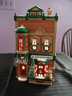 Hey, I found this really awesome Etsy listing at https://www.etsy.com/listing/165468277/dept-56-snow-village-christmas-shop