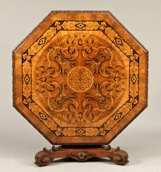 A Very Fine Centre Table stamped for James Winter & Sons, Wardour Street, London  Circa 1830