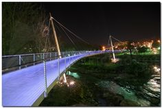 Liberty Bridge in Greenville, SC. Photo by Eric Morris Photography.