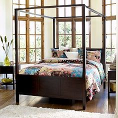 Canopy Bed.  My bedroom!