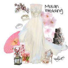 """Mulan Inspired Wedding"" by rubytyra on Polyvore"