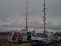 Our live trucks.