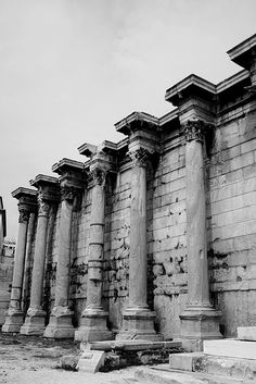Hadrians Library, Athens, Greece (May 2007) by Cor Lems, via Flickr