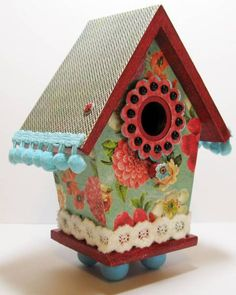 Bird House by MichelleBowley - Cards and Paper Crafts at Splitcoaststampers
