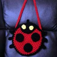Ladybug purse for little girl Looks so cute