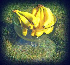 bananas in the backyard