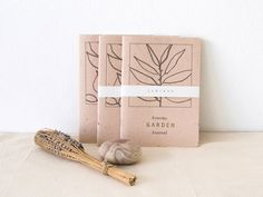 New garden journal - Everyday Garden Journal - a notebook dedicated to gardeners and farmers for their daily notes