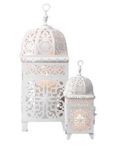 white lanterns come in 3 sizes11,18 and 36 inch
