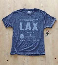 LAX Los Angeles Airport Shirt by Pilot and Captain @Tavia Morse- Salvadalena - This is for Jeff